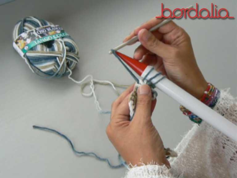 Bufanda de punto peruano | Lanas | El taller de Dalia | Bordalia ...